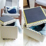 DIY Tutorial: How to Make a DIY Storage Ottoman ~ Part 2