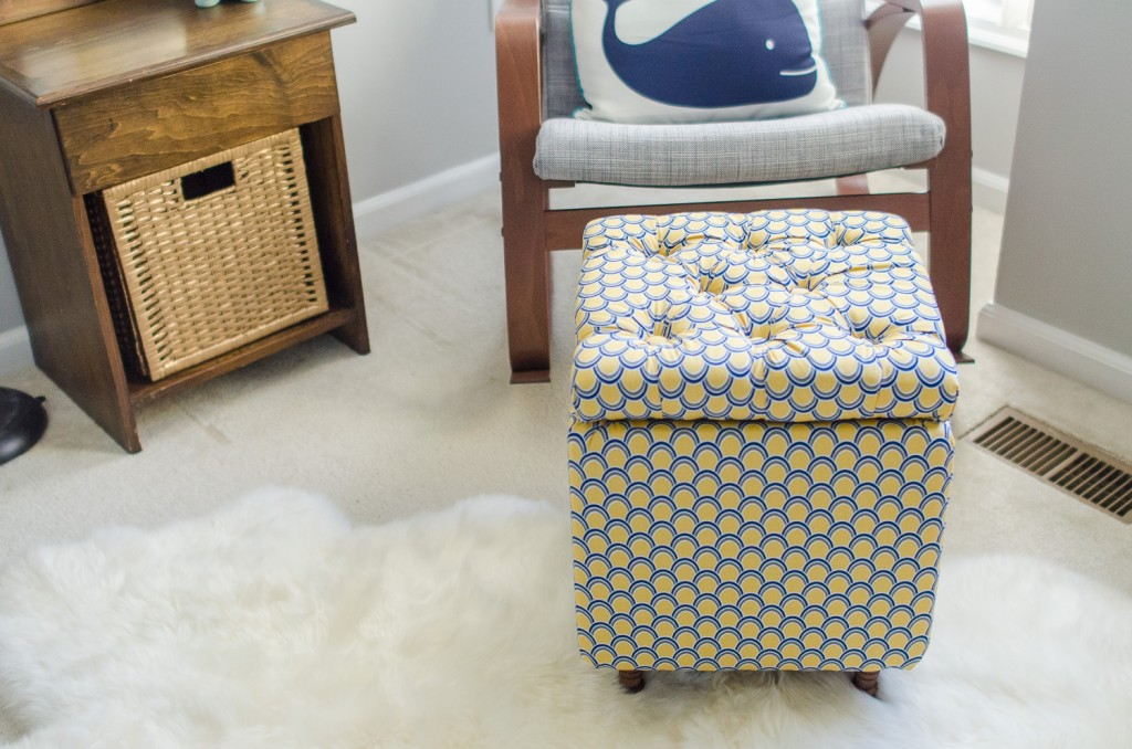 DIY how to make storage ottoman tutorial (2)