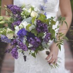 Organic Purple Wildflower Wedding Shoot & LINK LOVE