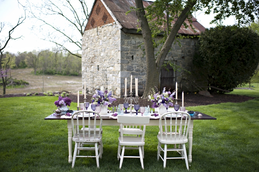 blackberry wedding purple rustic details (2)