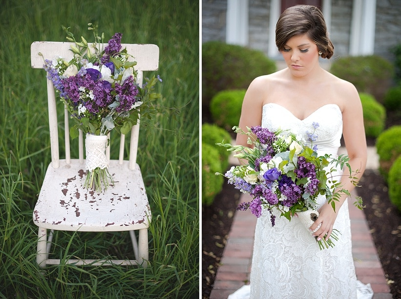 blackberry wedding purple rustic details (6)