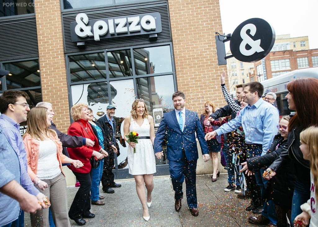 offbeat DC wedding Pi Day at &Pizza (5)