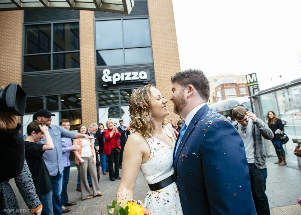offbeat DC wedding Pi Day at &Pizza (6)
