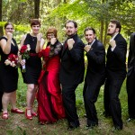Nicole & Dean's Offbeat, Personalized Maryland Wedding at Brookeville Academy