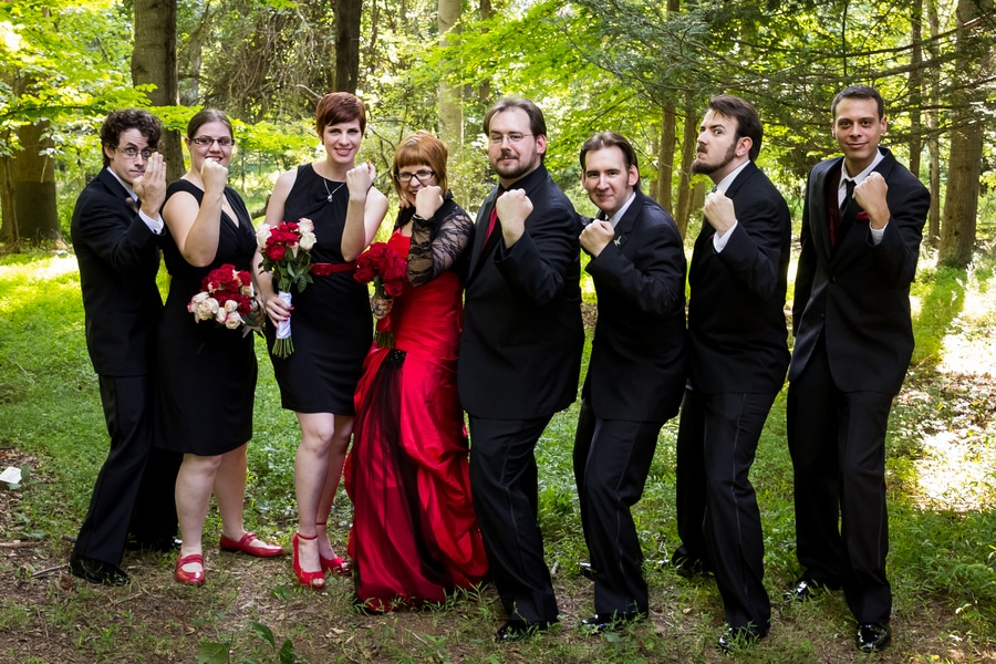 offbeat geeky Maryland wedding pictures (13)