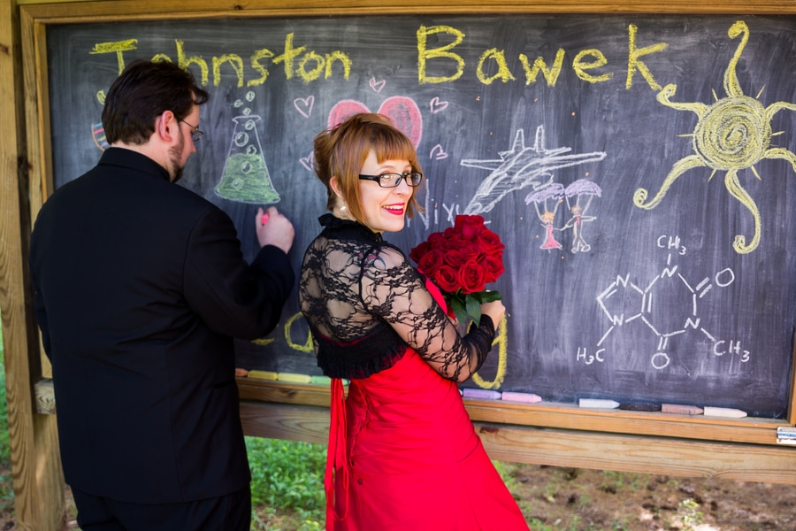 offbeat geeky Maryland wedding pictures (16)
