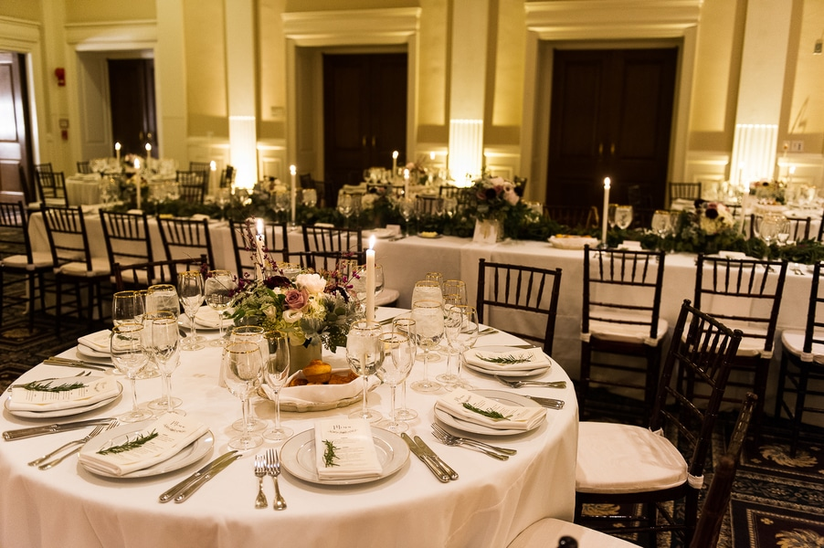 classy gold themed Washington DC wedding Carnegie Institute Science pictures (19)