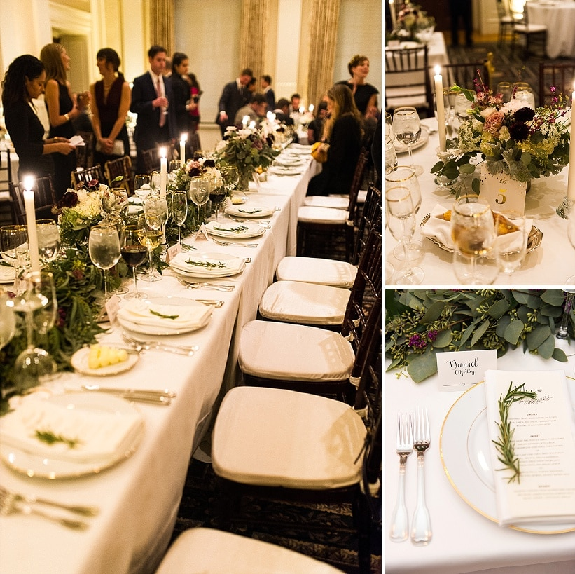 classy gold themed Washington DC wedding Carnegie Institute Science pictures (2)