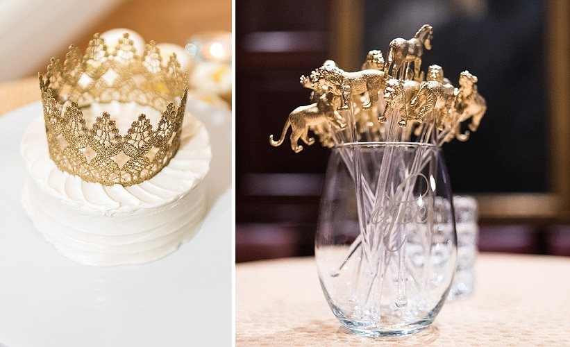 classy gold themed Washington DC wedding Carnegie Institute Science pictures (3)