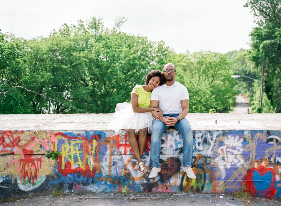 fun DC area engagement pictures busboys and poets Shirlington (1)