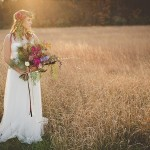 Organic, Bohemian Wedding Inspiration & LINK LOVE