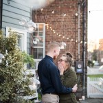 Rachele & Josh's Surprise Engagement in Old Town Alexandria, Virginia