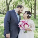 Kristen & Alex's Modern Meets Vintage, Intimate DC Wedding at Darlington House