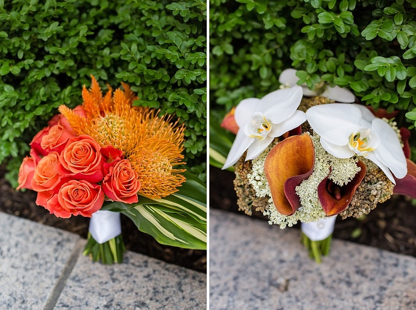 modern same sex orange themed DC wedding (11)