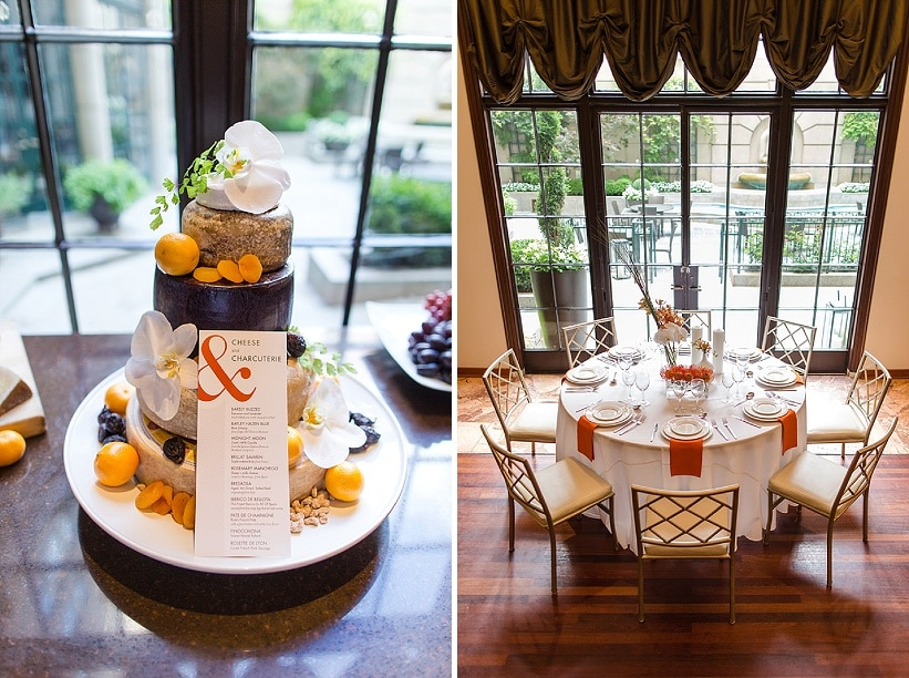 modern same sex orange themed DC wedding (5)