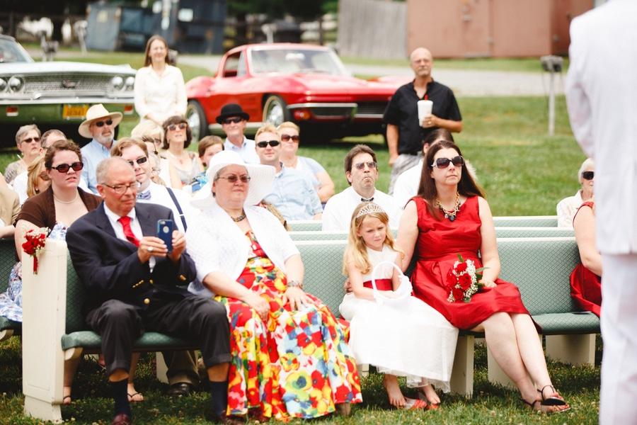 1950s drive in wedding in Virginia (18)