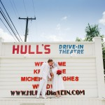Kris & Michelle's Offbeat, Intimate 1950s Drive-In Wedding in Virginia