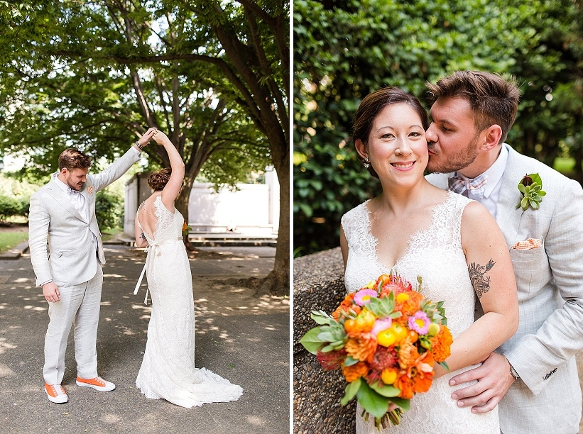 alternative rad DIY Washington DC wedding Josephine Butler Parks Center (14)