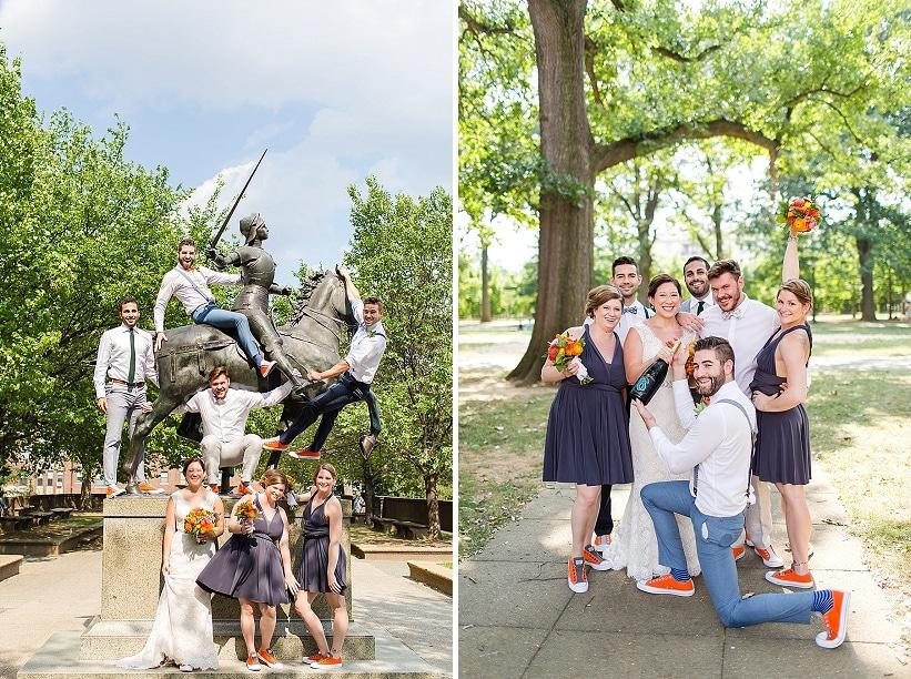 alternative rad DIY Washington DC wedding Josephine Butler Parks Center (16)