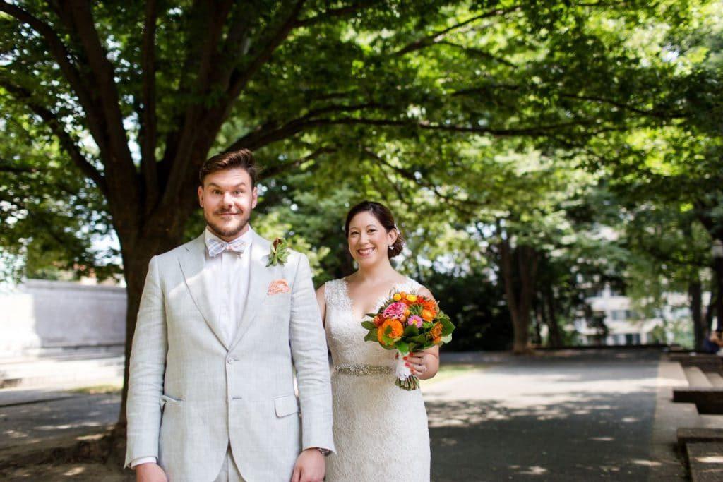 alternative rad DIY Washington DC wedding Josephine Butler Parks Center (30)