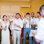 Kara & Justin's Brightly Colored, Local DC Wedding at Josephine Butler Parks Center