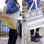 FREE DIY Holiday Tote Bag Workshop at PARCEL Market (this Saturday!)