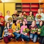 Our Last DIY Workshop Recap of 2015: DIY Fall Pumpkin Floral Arrangements