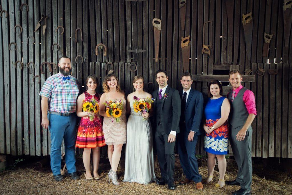 DIY Maryland Barn Wedding Rocklands Farms (19)