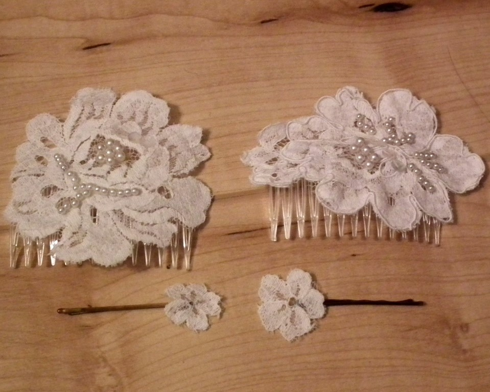 Diy tutorial how to make a diy bridal hair comb for your wedding hair comb 10 solutioingenieria Image collections