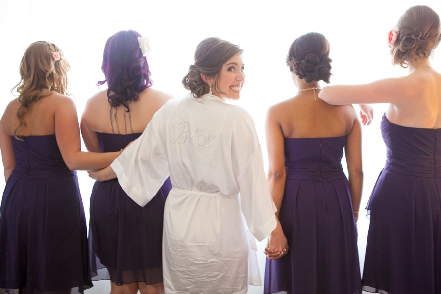 modern washington dc restaurant wedding pictures purple (15)