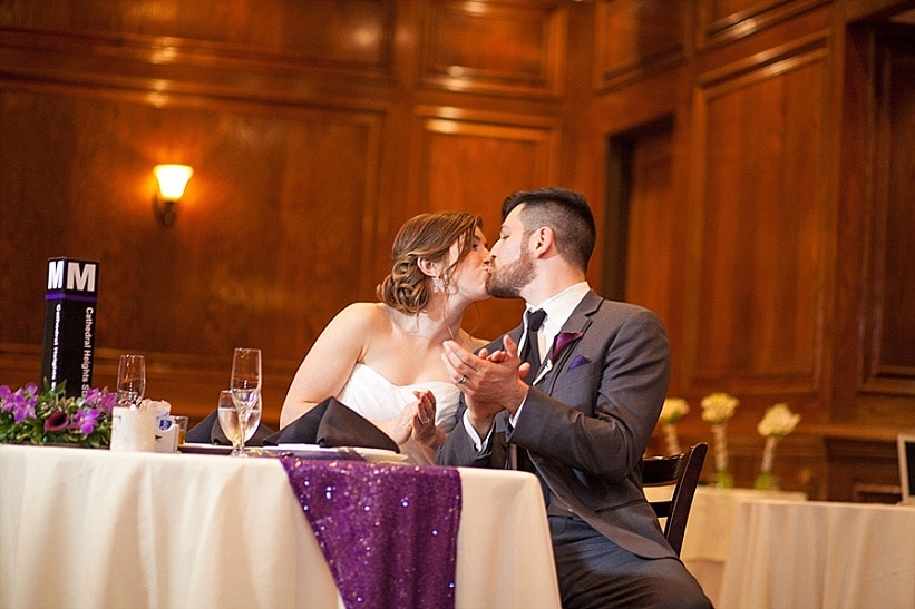 modern washington dc restaurant wedding pictures purple (8)