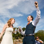 Jackie & Aaron's Super Fun, Family Involved Virginia Wedding at Broad Run Farm