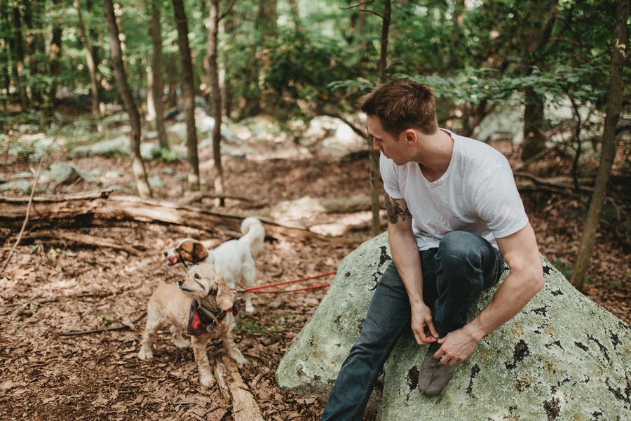 alternative maryland hiking sugarloaf mountain engagement pictures (7)