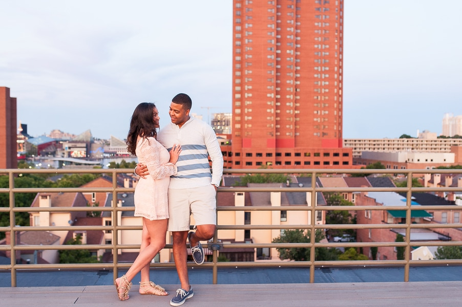 baltimore rooftop engagements pictures (1)