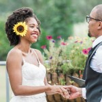 Amber & Obi's Intimate, DIY Wedding at Meadowlark Botanical Gardens