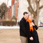 Mary Olive & Eric's Sweet DC Winter Engagements Pictures at Eastern Market