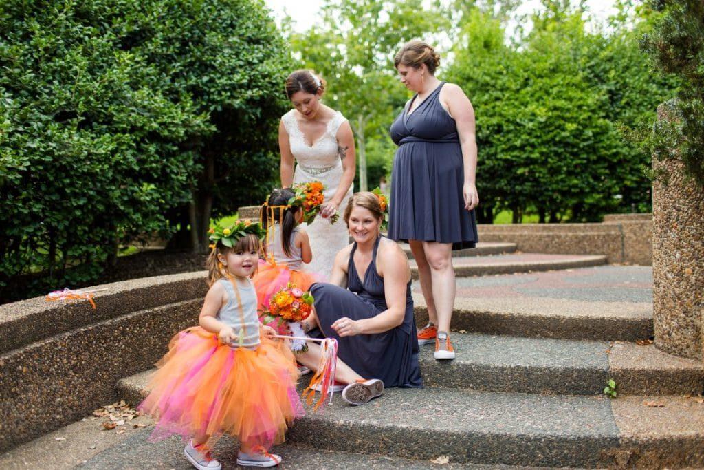 DIY Flower Girl Ribbon Crepe Paper Wands Wedding Tutorial (3)