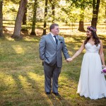 Kristen & Dale's DIY, Rustic Virginia Wedding at the Barns at Wolftrap