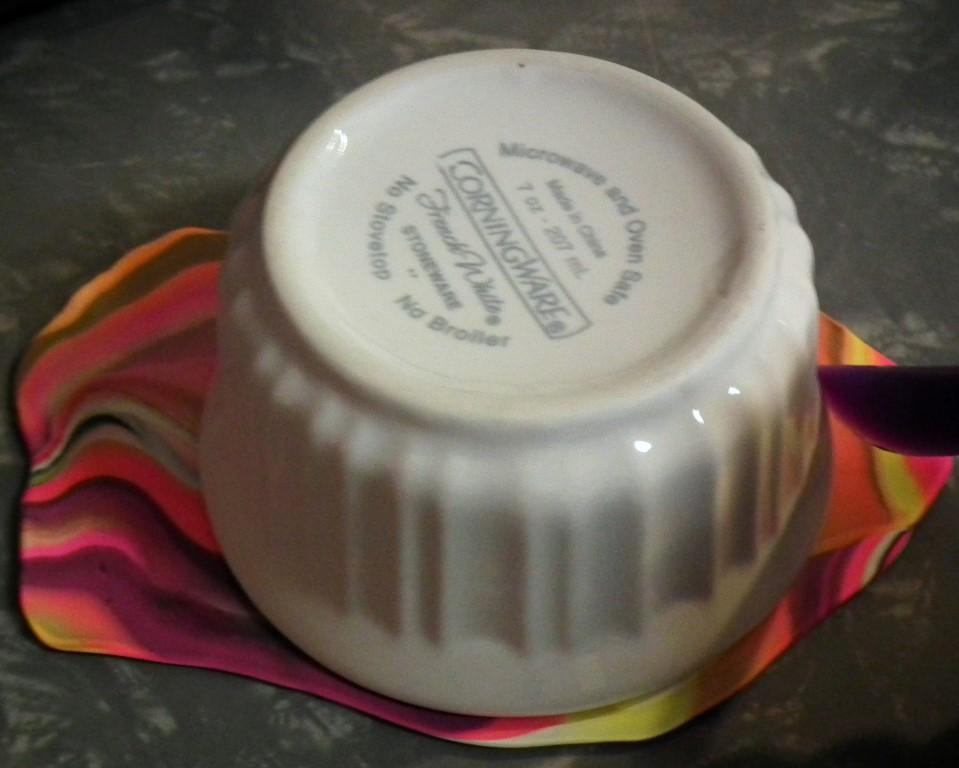 Marbled Dish 7