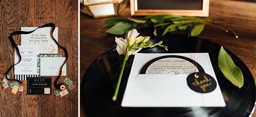 marvin gaye black gold art deco wedding design inspiration pictures ideas (4)