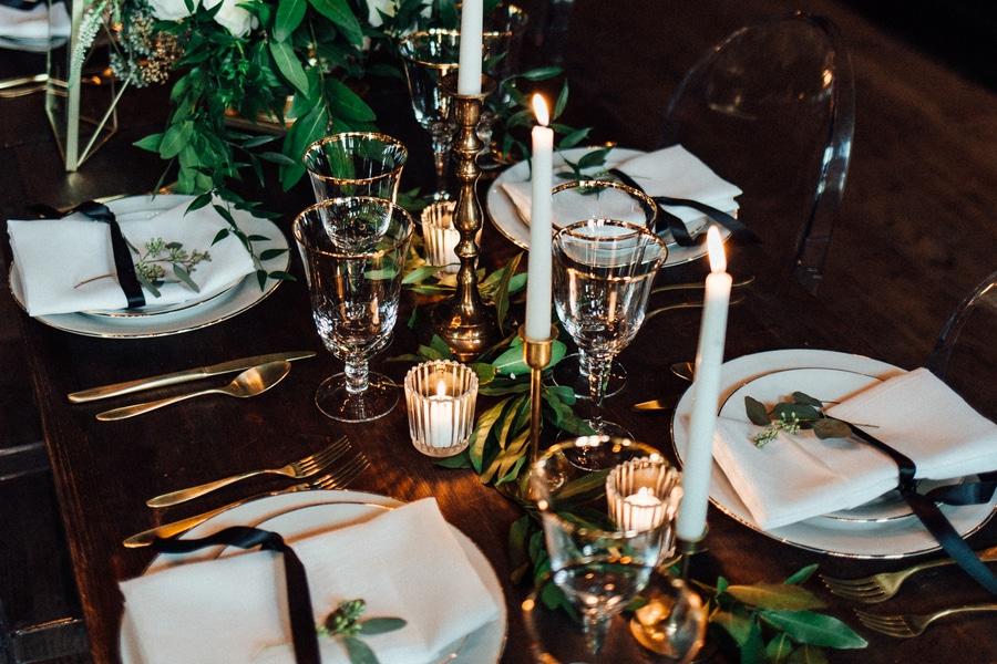 marvin gaye black gold art deco wedding design inspiration pictures ideas (8)