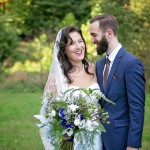Serefina & Jacob's Flower-Inspired, Vegan Maryland Wedding at Church & Company