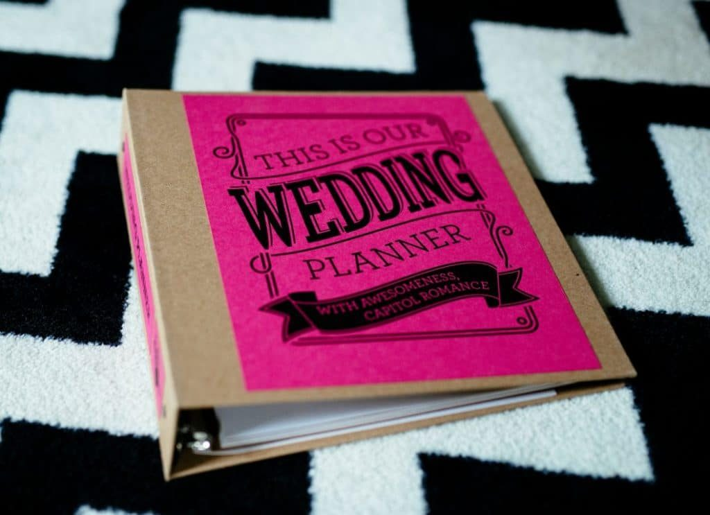 Introducing Officially The Capitol Romance Wedding Planner Now On Sale