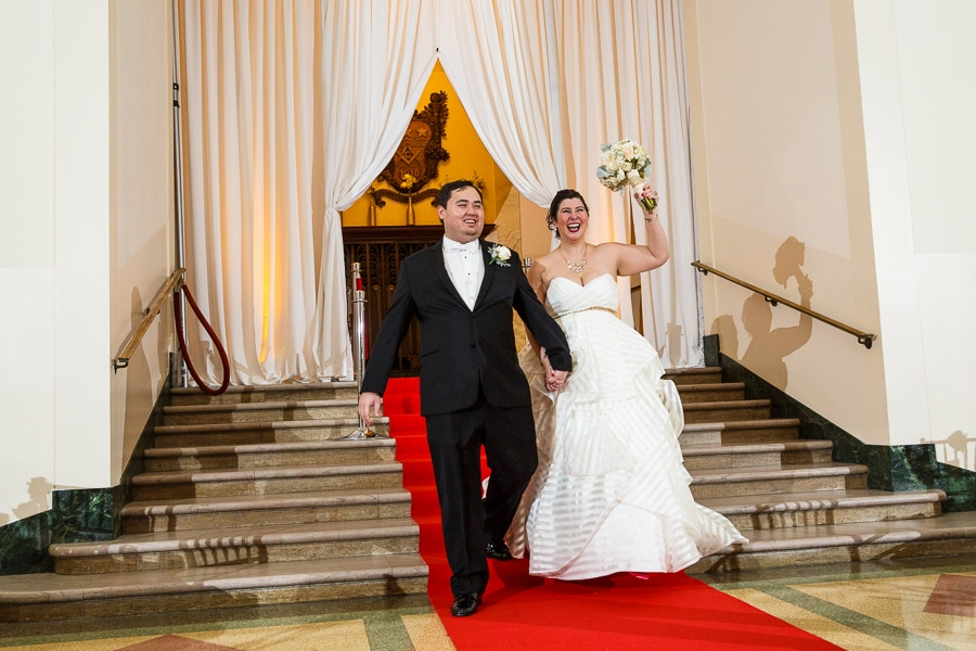 Gretchen & Sean - George Washington Masonic Memorial Wedding