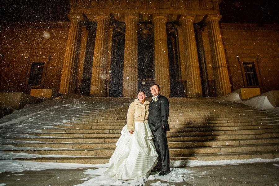 diy gold white winter harry potter themed wedding (3)