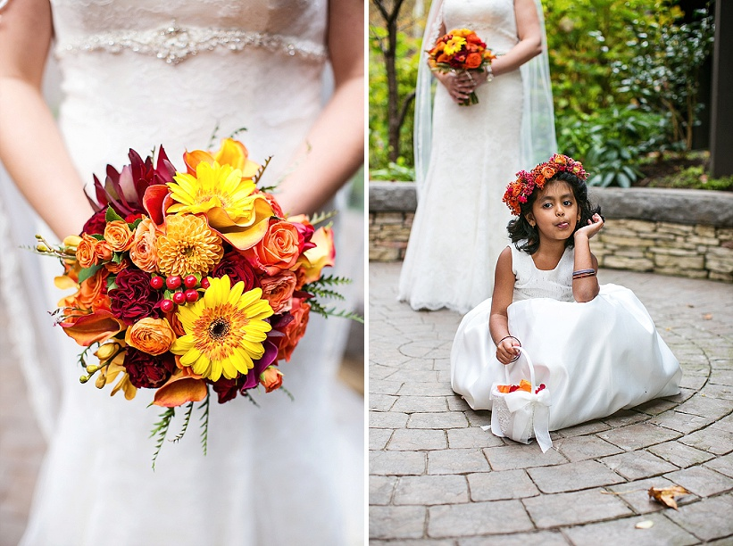 multicultural indian american virginia winery wedding fall themed winery at fine creek (12)