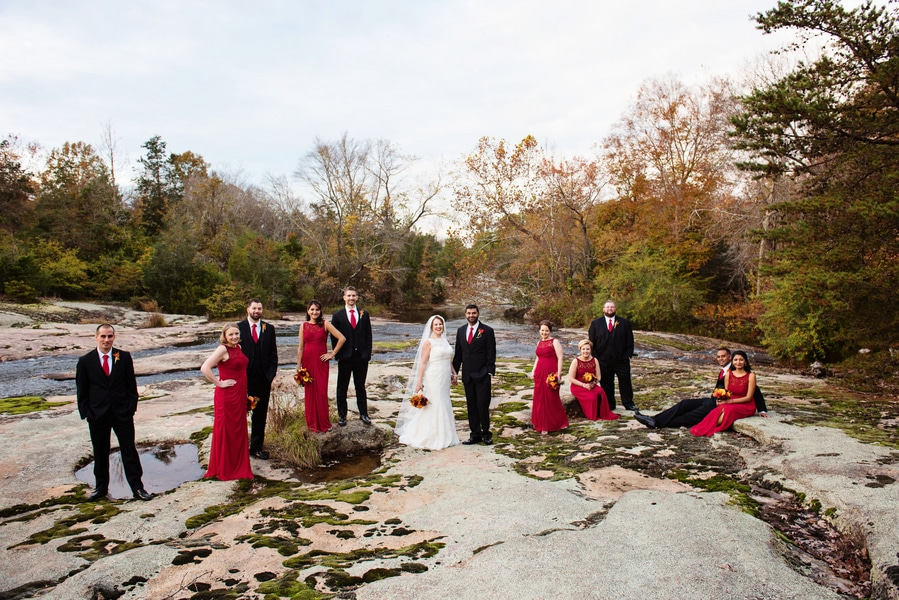 multicultural indian american virginia winery wedding fall themed winery at fine creek (18)