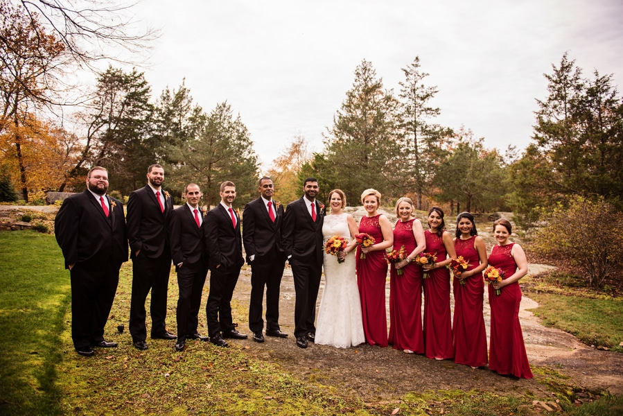 multicultural indian american virginia winery wedding fall themed winery at fine creek (2)