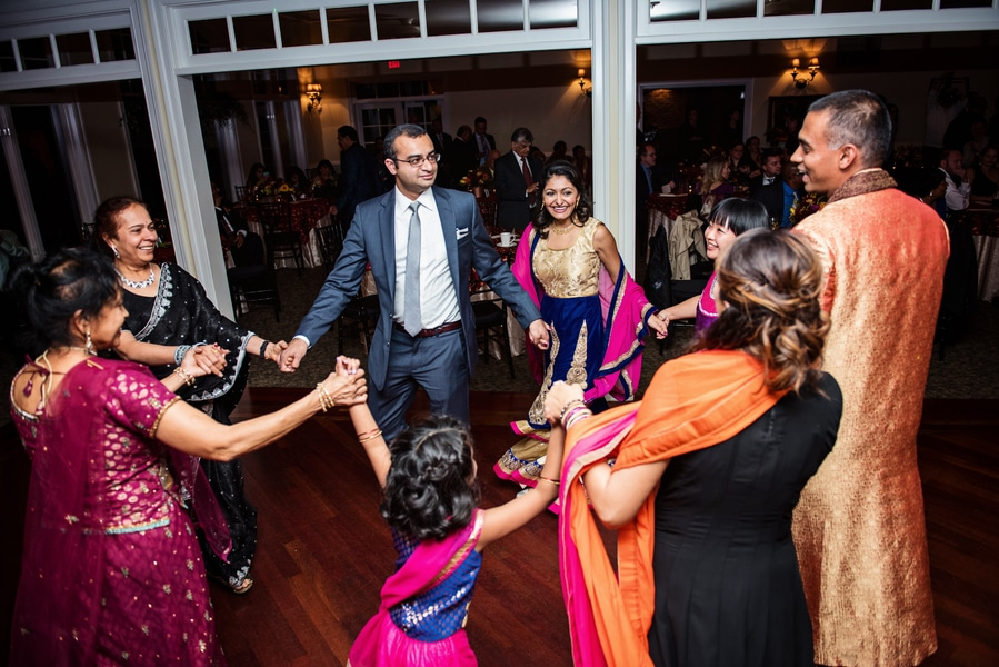 multicultural indian american virginia winery wedding fall themed winery at fine creek (27)