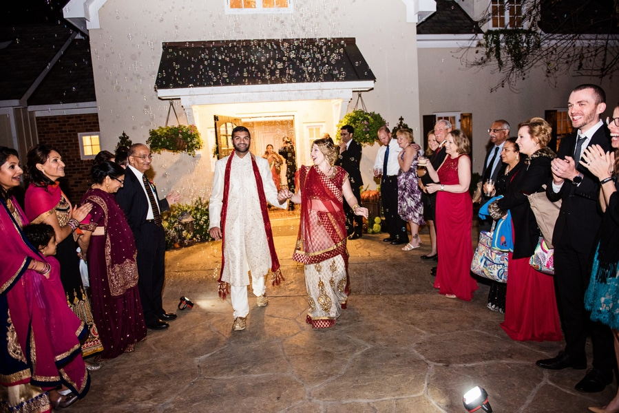 multicultural indian american virginia winery wedding fall themed winery at fine creek (28)